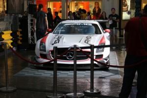 マカオグランプリ ベンツのレースカー