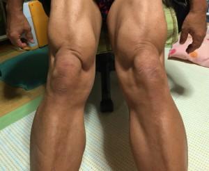 54歳の足ですわ~♪
